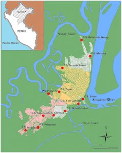 Iquitos, Peru, World Maps