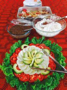 Plant Dieta meals at Caya Shobo Ayahuasca Retreat Center