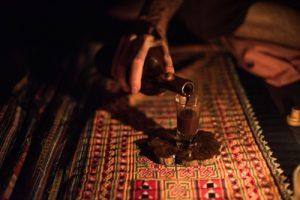Drinking Ayahausca at Caya Shobo