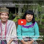 Maestra Lucinda sings ancient Icaro melody