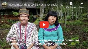 Shipibo Maestra Lucinda Mahua Caya Shobo